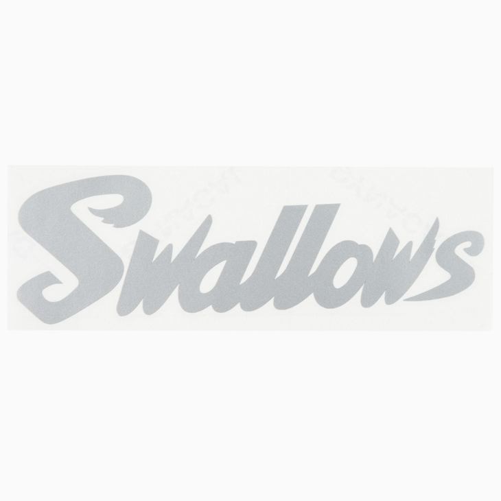 カーステッカーシルバー(Swallows)