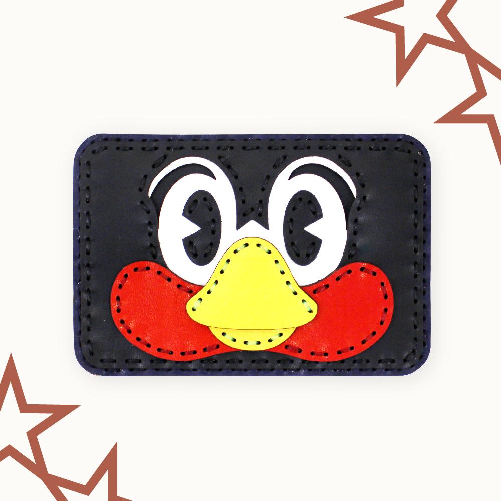 オジャガデザイン×スワローズコラボ BigFaceカードケース(つば九郎)