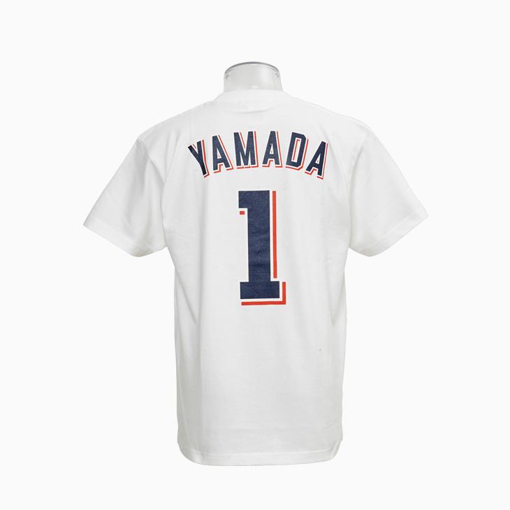 ネーム&ナンバーTシャツ(ホーム)1山田