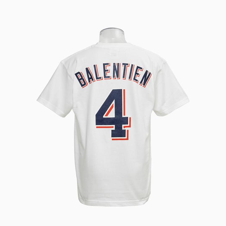 ネーム&ナンバーTシャツ(ホーム)4バレンティン