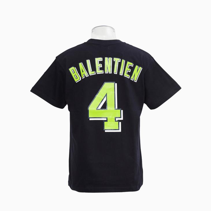 ネーム&ナンバーTシャツ(ビジター)4バレンティン