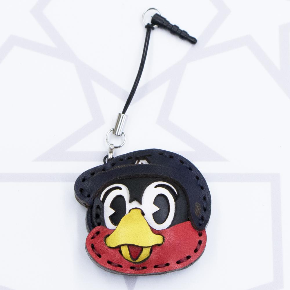 オジャガデザイン×スワローズコラボ 2016携帯ストラップ(つば九郎)