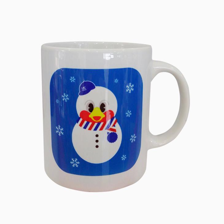 雪だるまつば九郎マグカップ