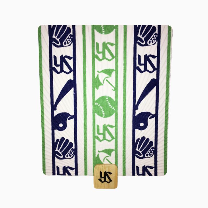Shikaku団扇(縞模様)