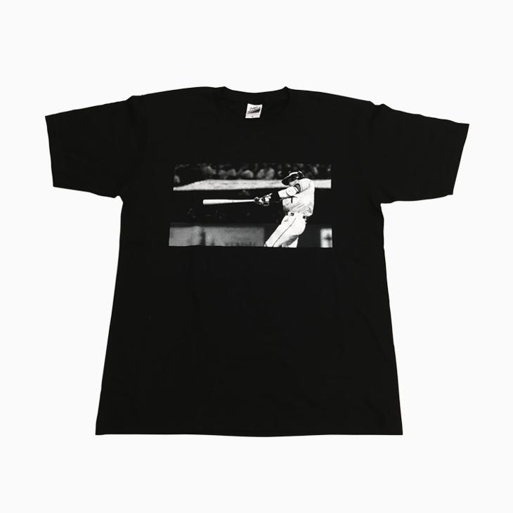 山田フォトTシャツ(ブラック)