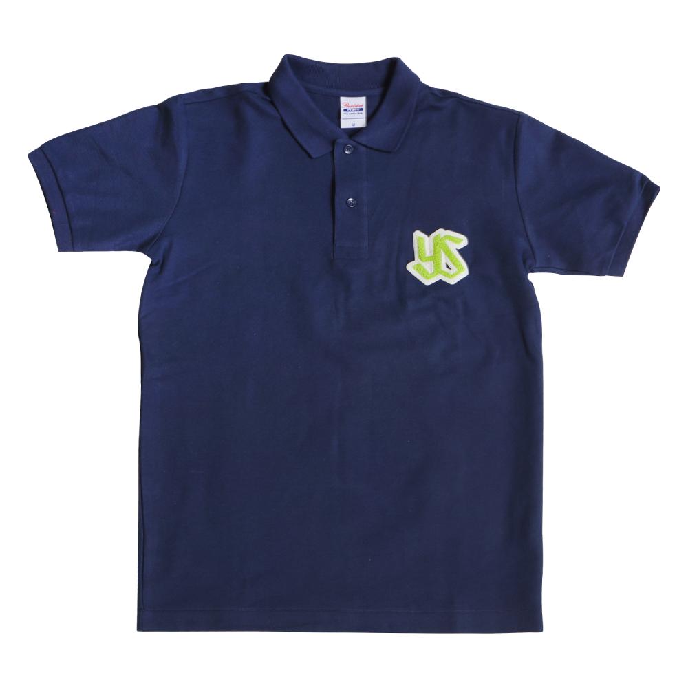 もこもこロゴポロシャツ(ネイビー)