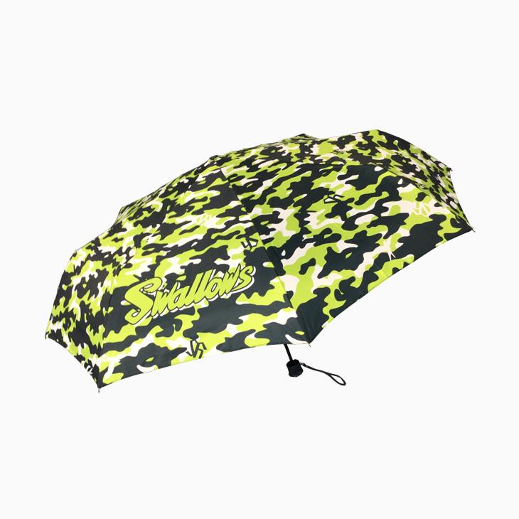 YSグリーンカモフラ柄折り畳み傘