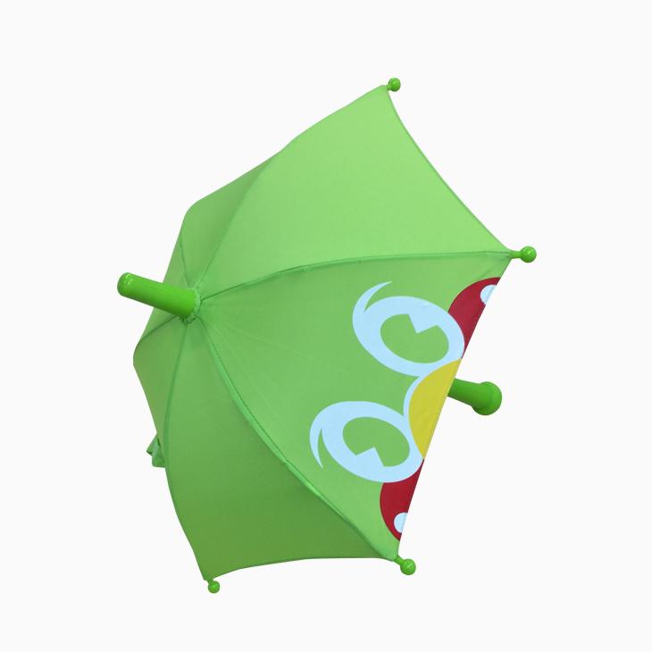 応援ミニチュア傘(つば九郎フェイスグリーン)