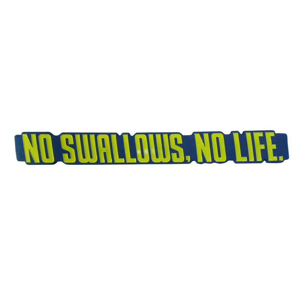 NO SWALLOWS,NO LIFE.ラバーバンド