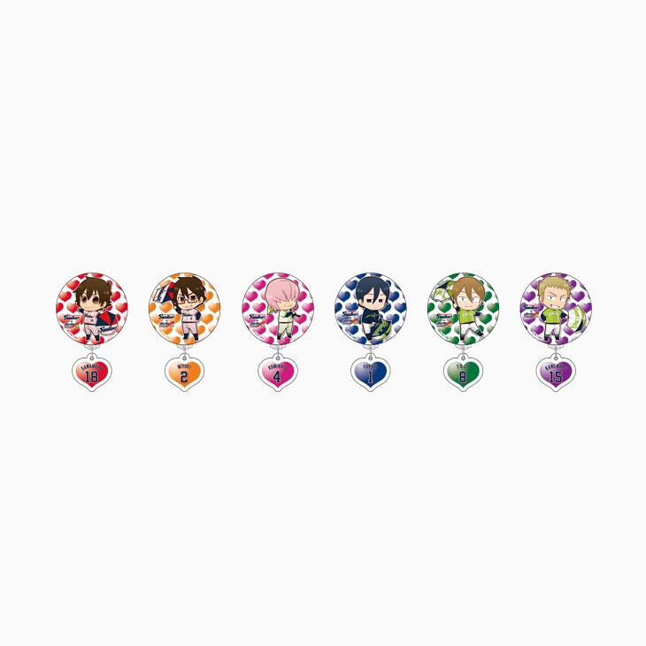 ダイヤのAふりふり缶バッジ(2017)
