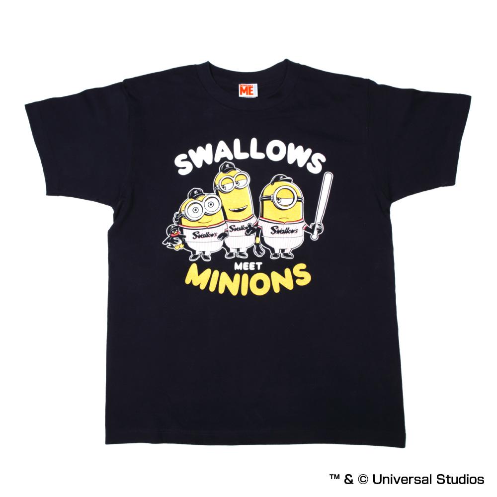 ミニオン×スワローズTシャツ(子供用)