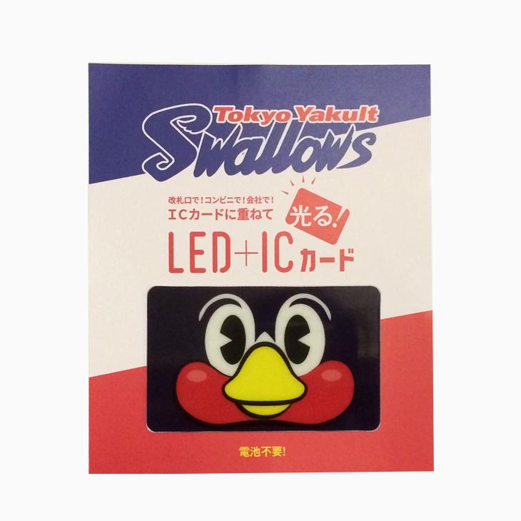 LEDICカードステッカー(つば九郎)