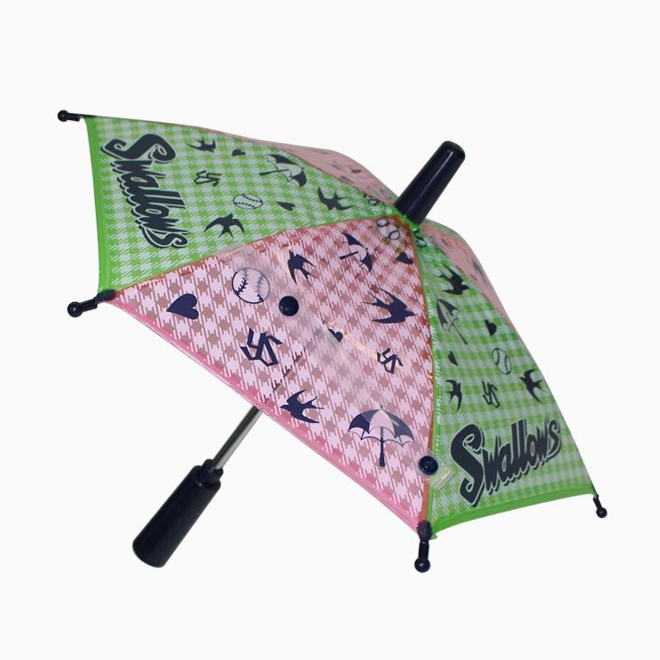 応援ミニチュア傘(チェック)