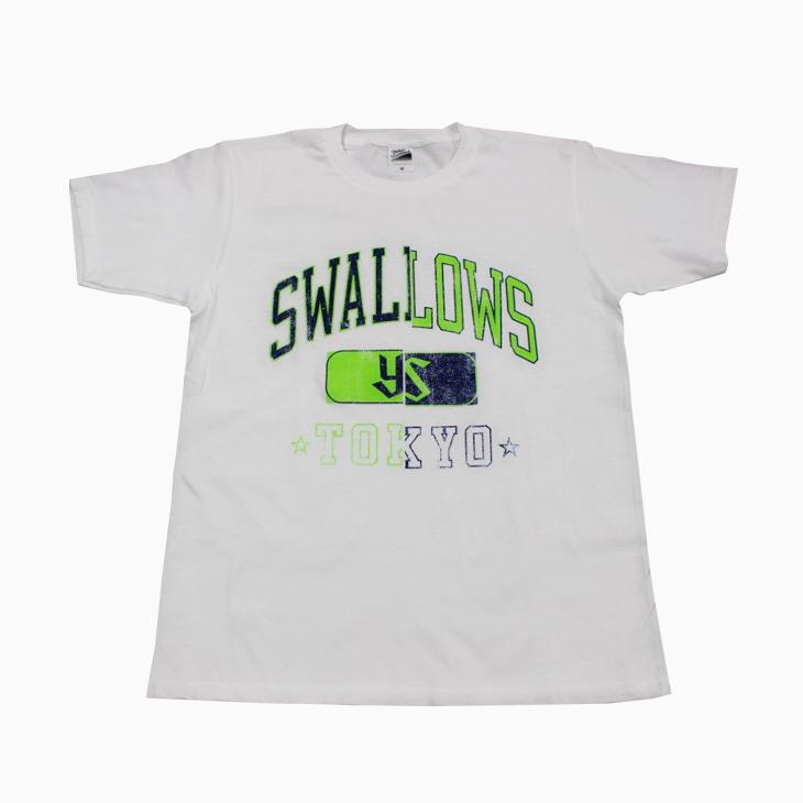 SwallowsカレッジTシャツ(ホワイト)