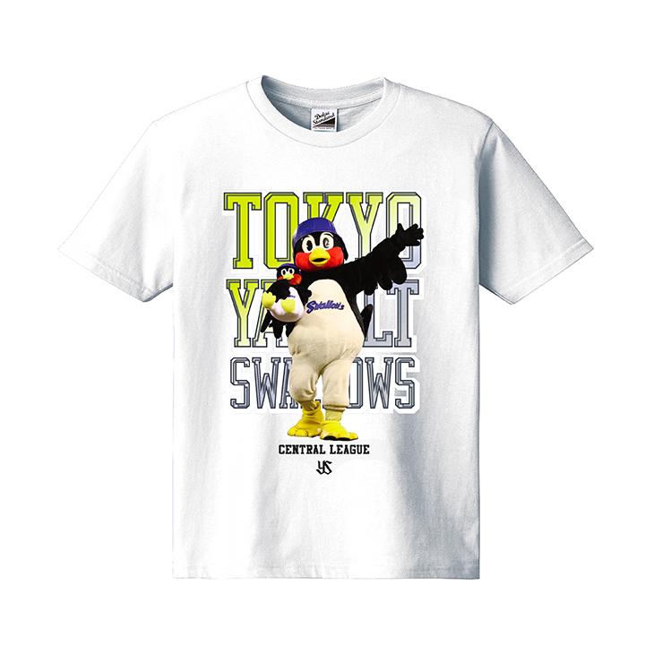 つば九郎フォトカラーKidsTシャツ(ホワイト)