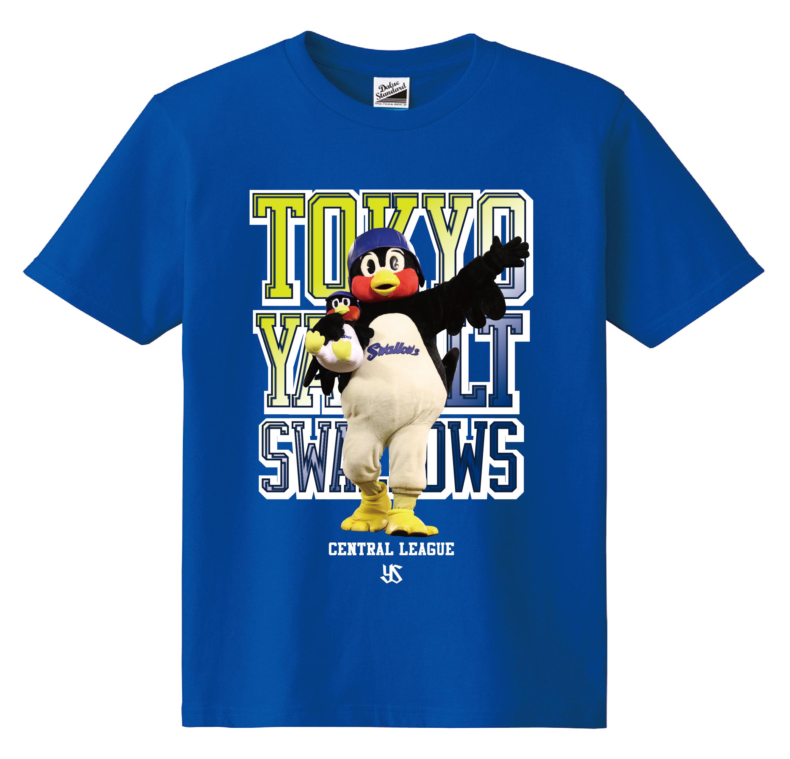 つば九郎フォトカラーKidsTシャツ(ロイヤルブルー)