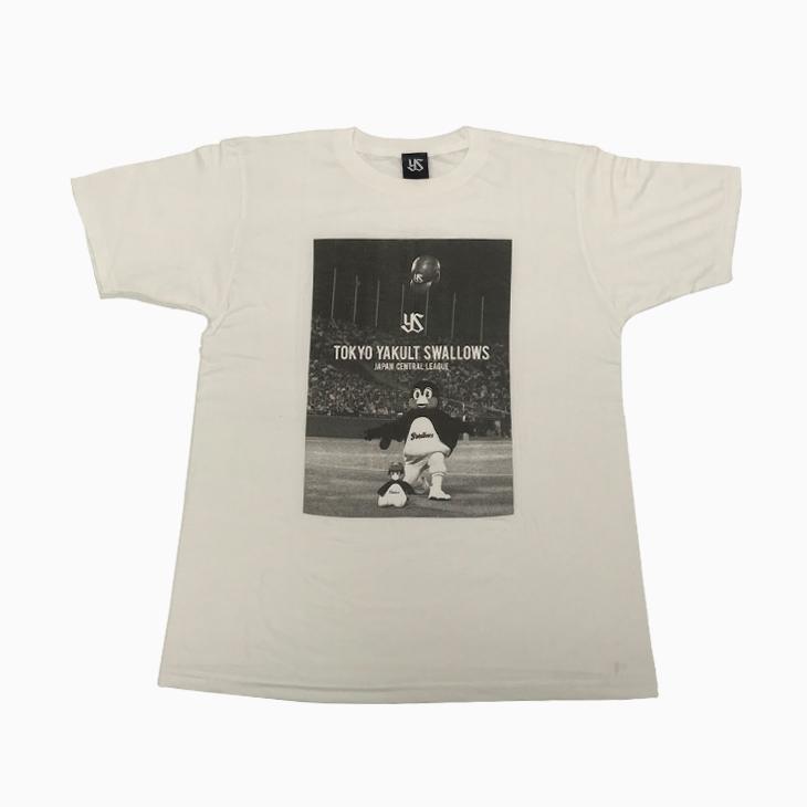 つば九郎フォトTシャツ(ホワイト)