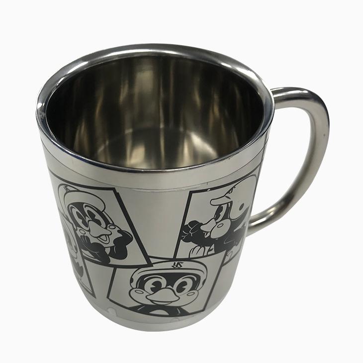 つば九郎ステンレス二重マグカップ