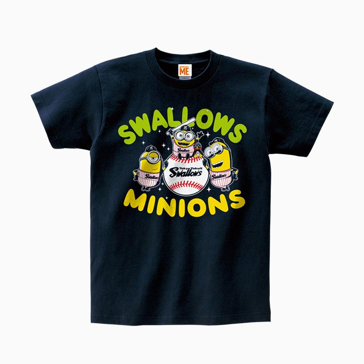ミニオン×スワローズTシャツ