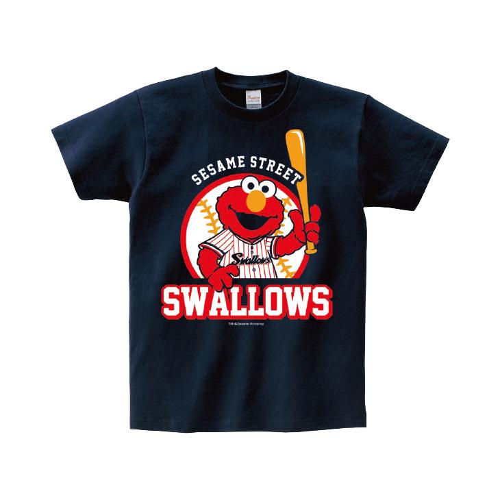 SESAME STREET×スワローズTシャツ(ELMO)キッズ