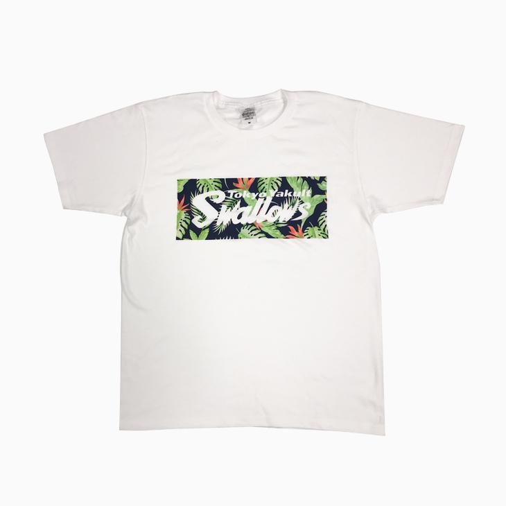 SwallowsボタニカルロゴTシャツ