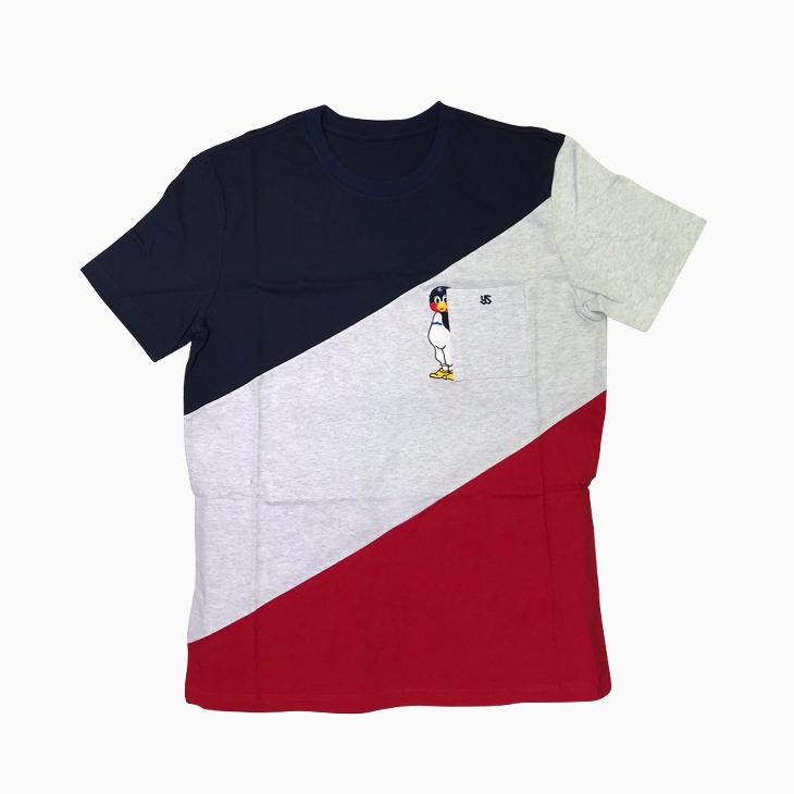 つば九郎刺繍入りTシャツ