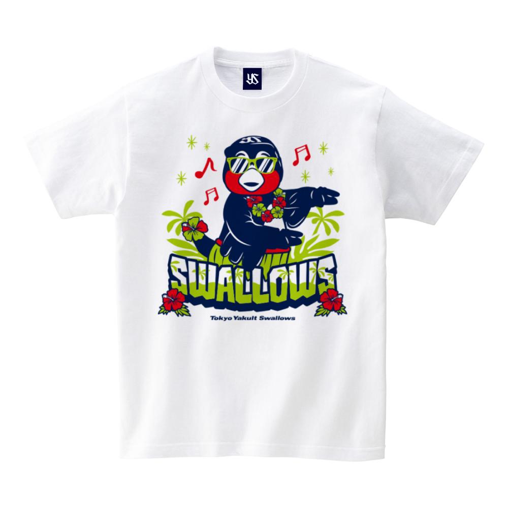 フラダンスつば九郎Tシャツ