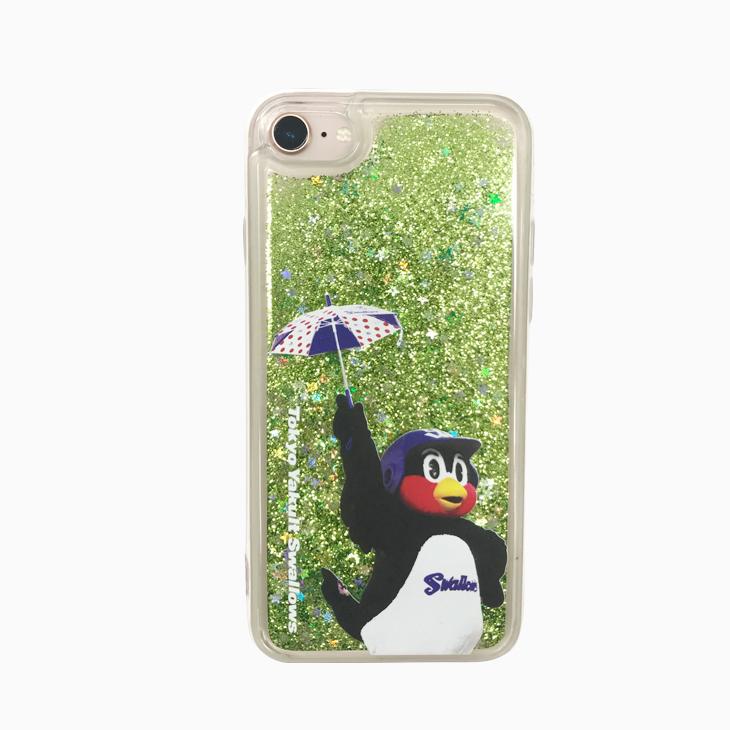 グリッターiPhoneケース(つば九郎)