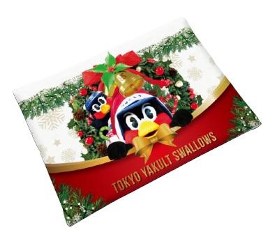 つば九郎クリスマスポケットティッシュケース
