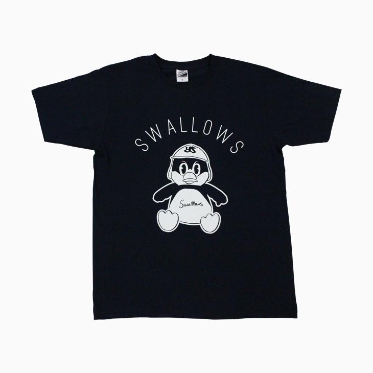 お座りつば九郎Tシャツ