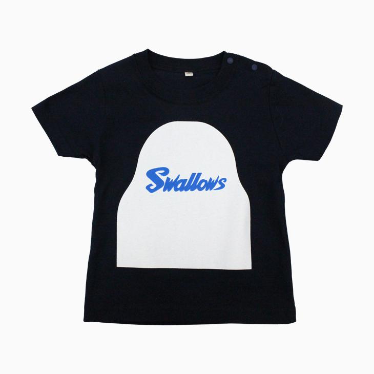 なりきりつば九郎TシャツBaby(ネイビー)