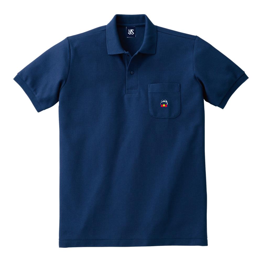 ポケット刺繍ポロシャツ(つば九郎)