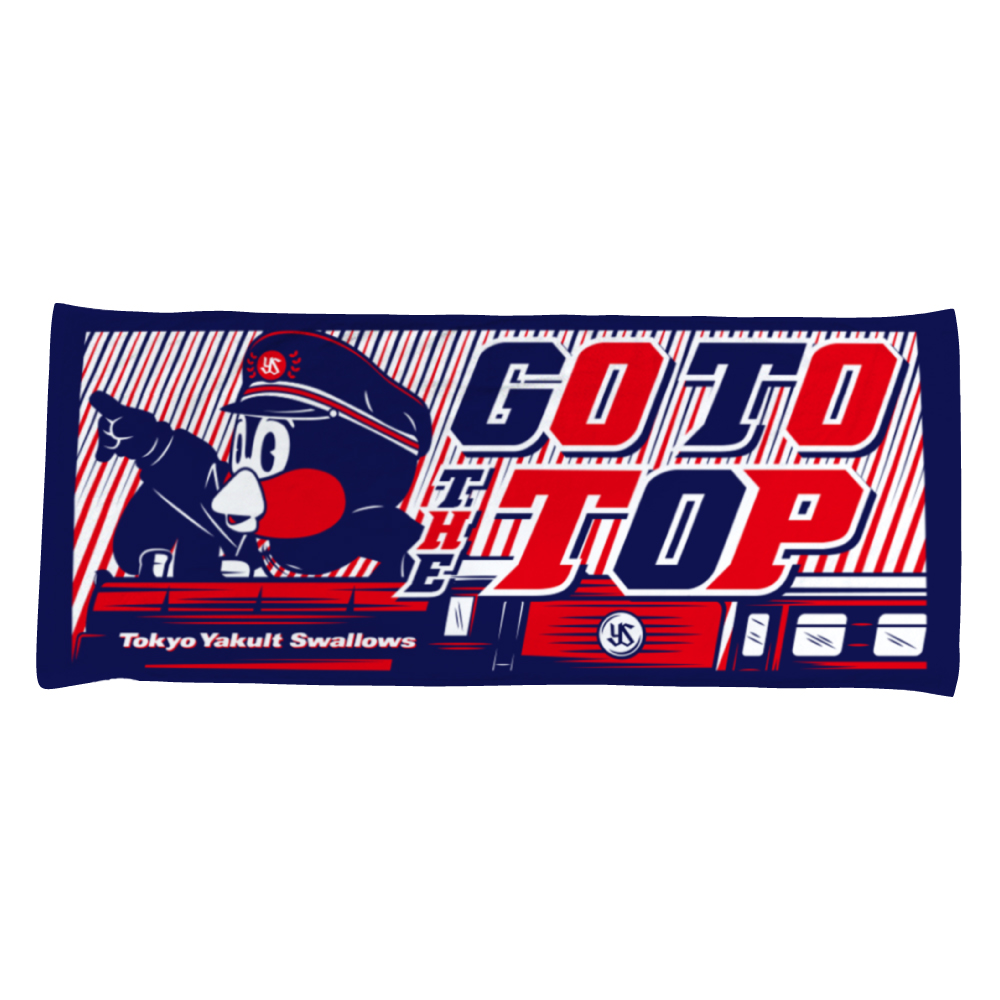 GO TO THE TOPフェイスタオル