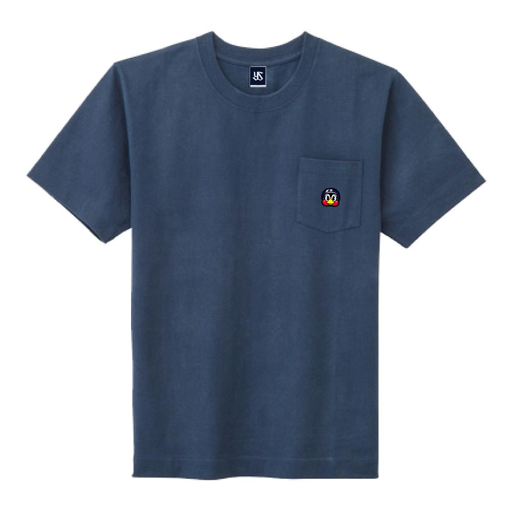 ポケット刺繍Tシャツ