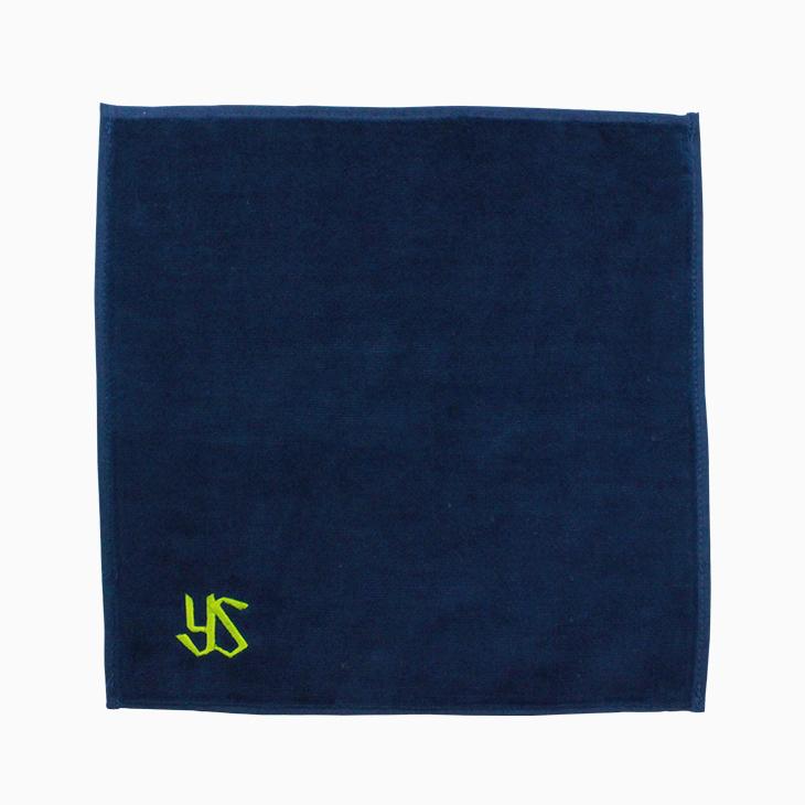 ワンポイント刺繍ハンドタオル(YSロゴ)