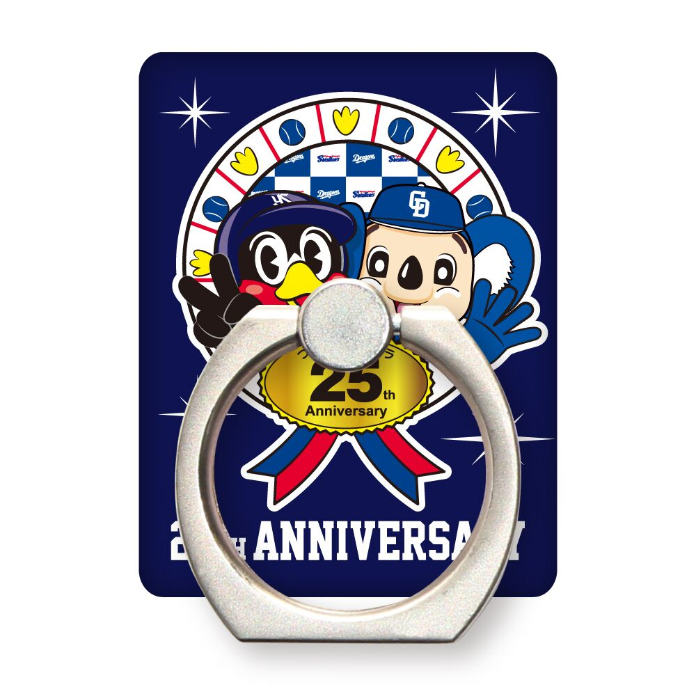 つば九郎×ドアラ25周年コラボモバイルリングホルダー