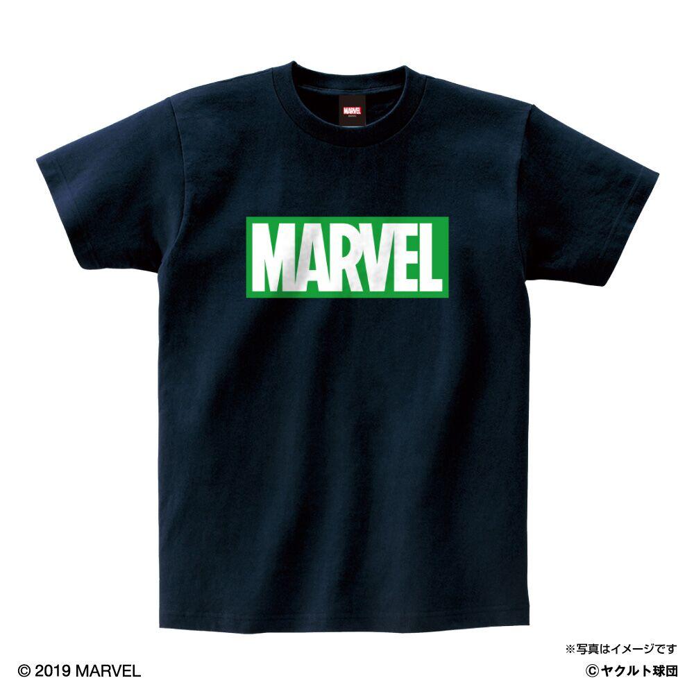 MARVEL スワローズTシャツ(ハルク)