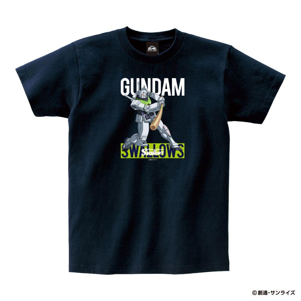 ガンダム×スワローズTシャツ