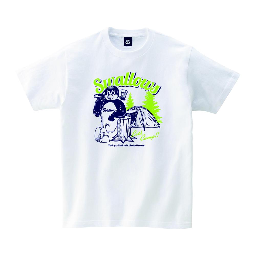 キャンプつば九郎Tシャツ