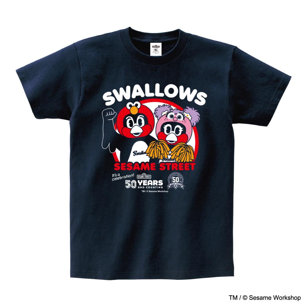 SESAME STREET×スワローズTシャツ