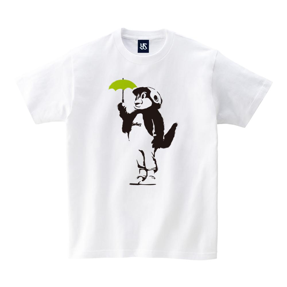つば九郎スプレーアートTシャツ