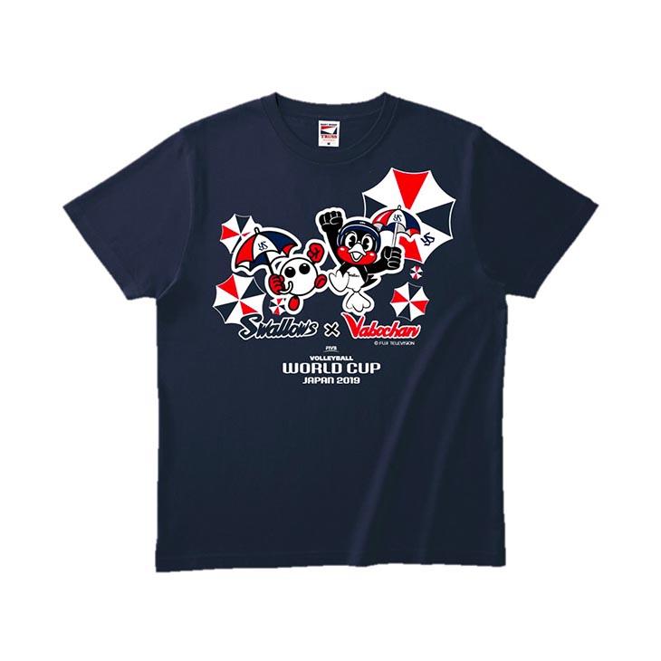 Swallows×バボちゃんTシャツ