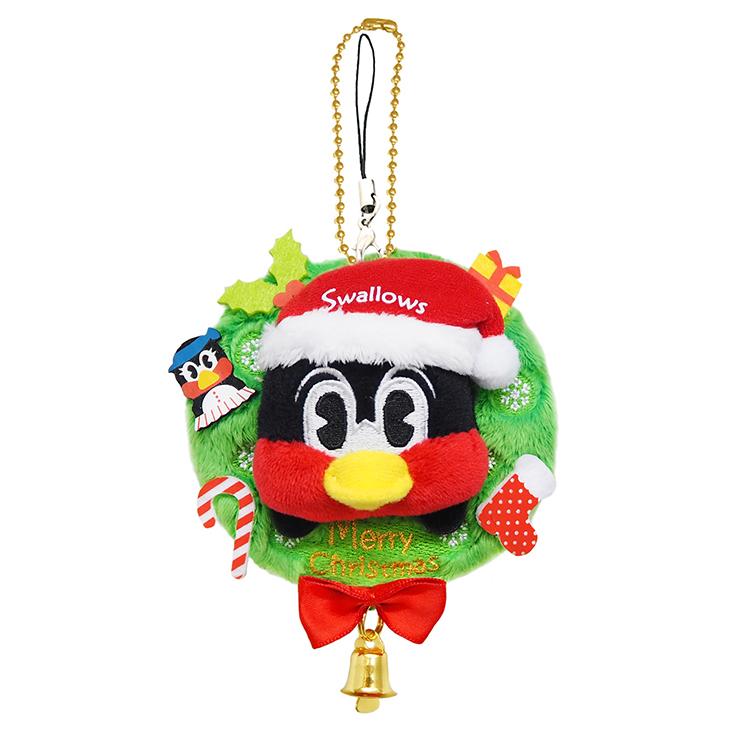 つば九郎クリスマスリース