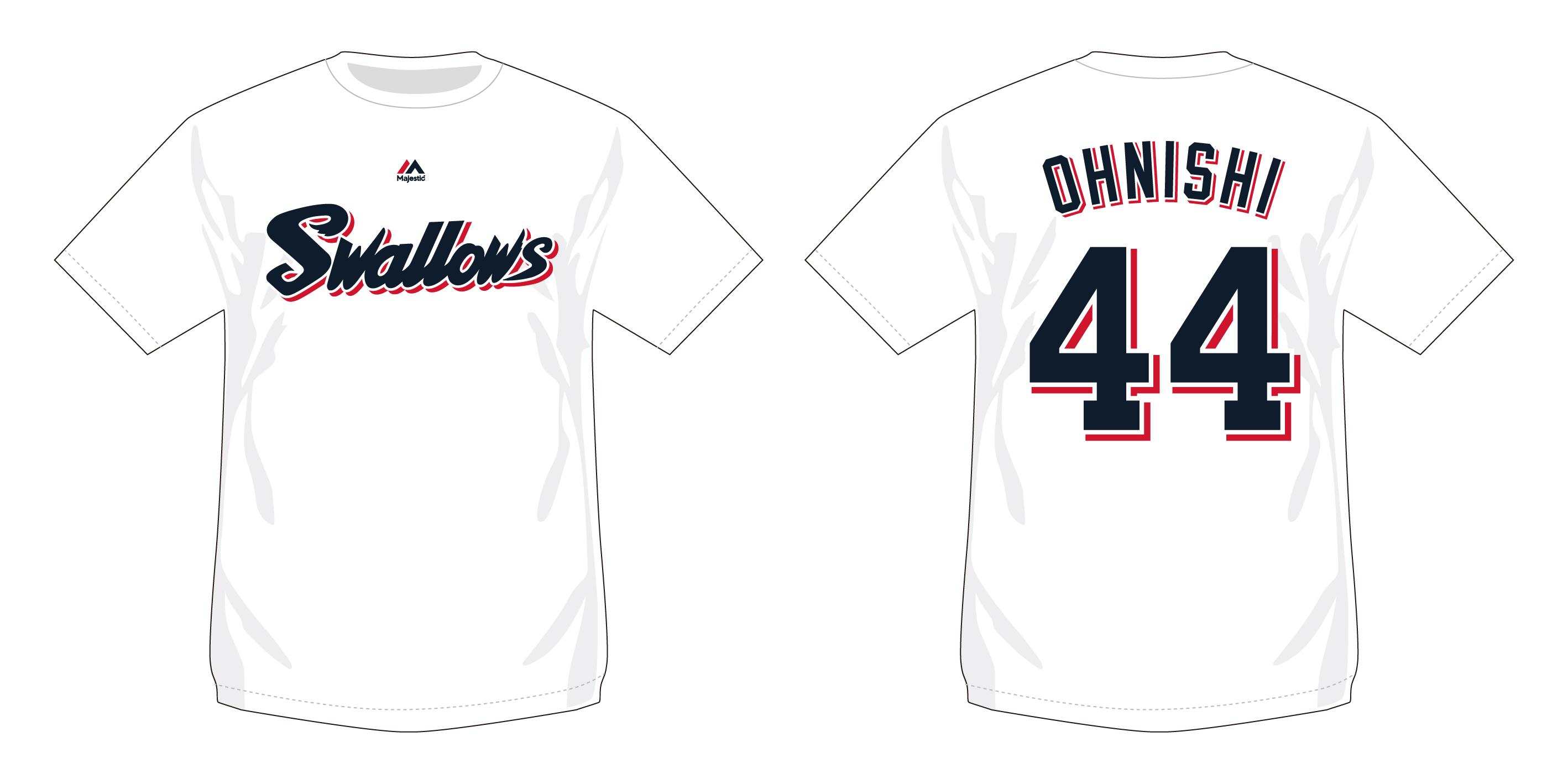 ネーム&ナンバーTシャツ(ホーム)44大西