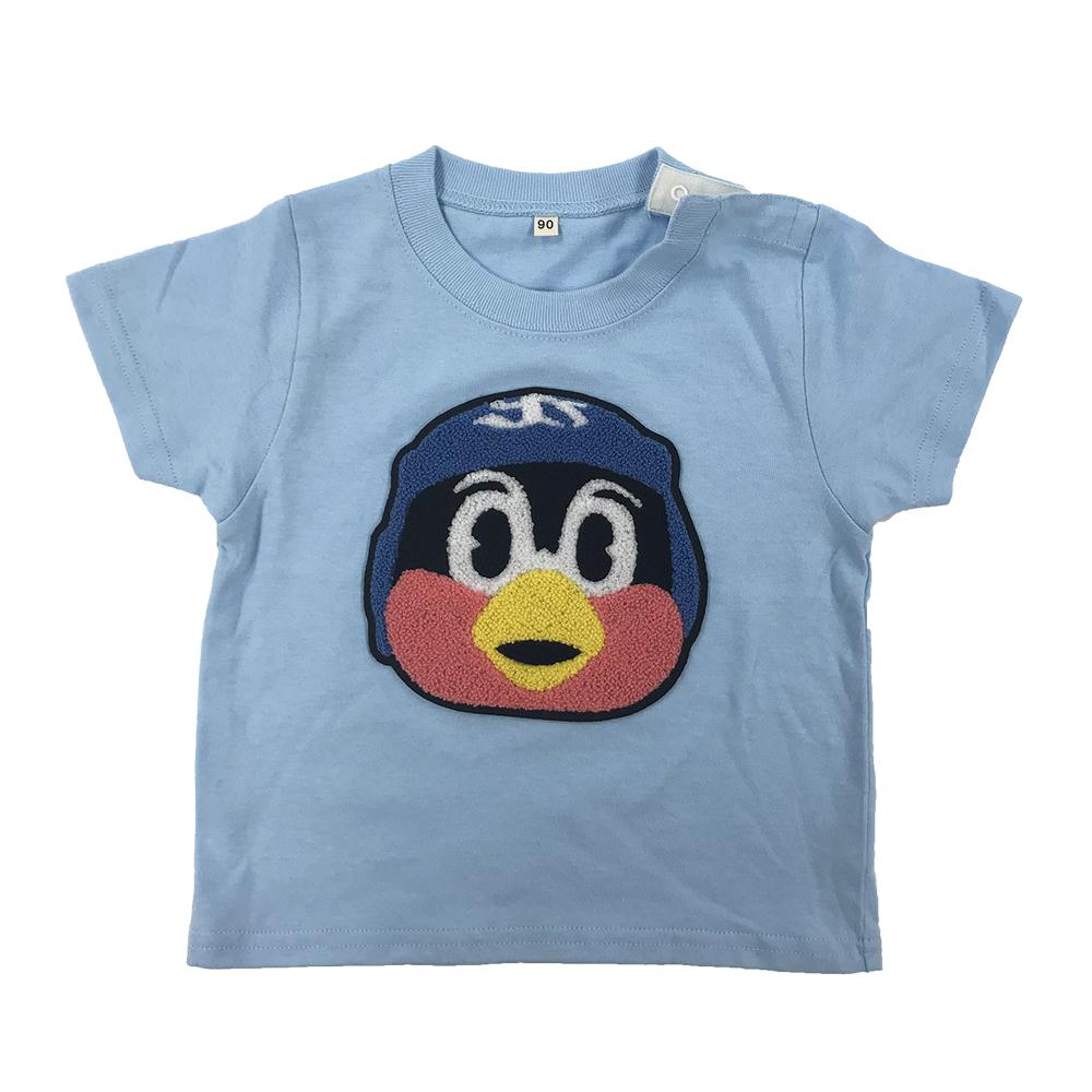 つば九郎サガラ刺繍BabyTシャツ