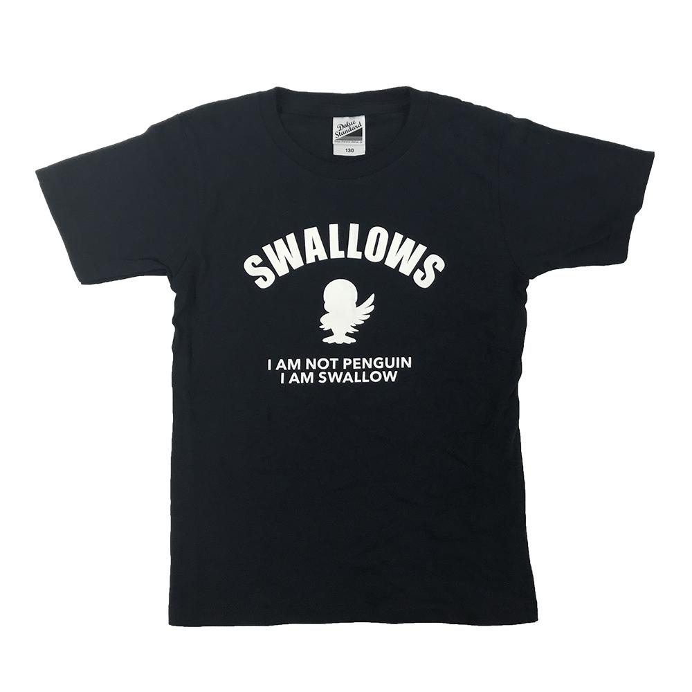 つば九郎KidsTシャツ(I am not Penguin)