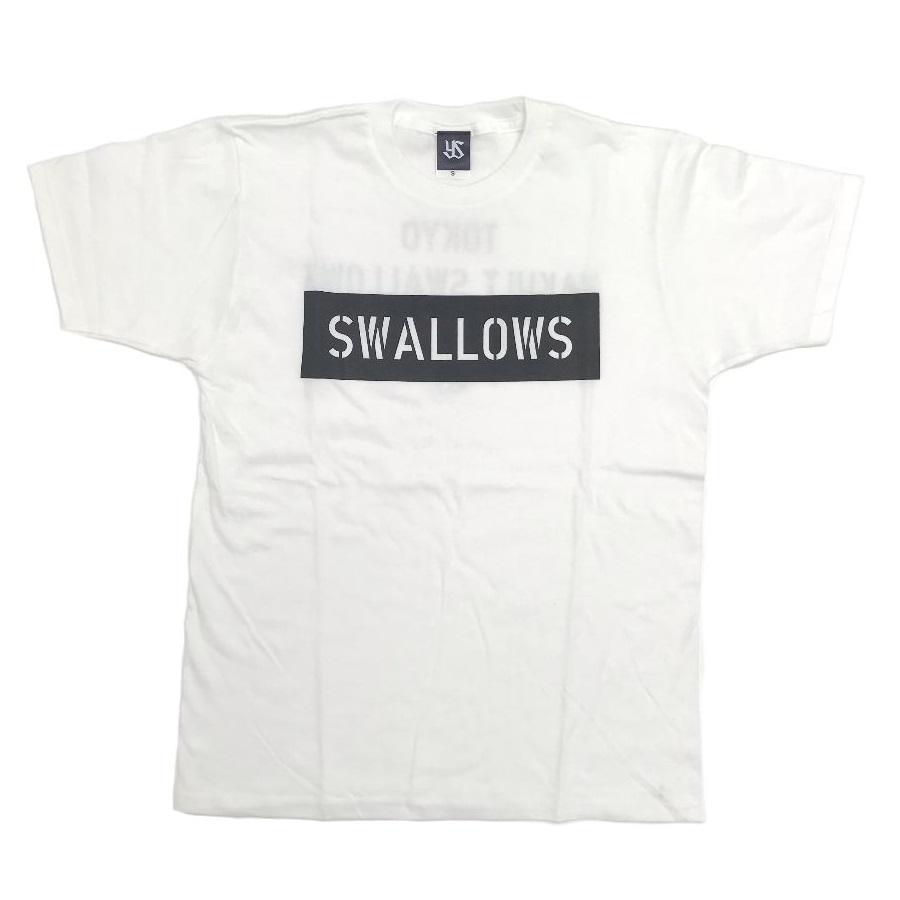 SwallowsモノBOXロゴTシャツ