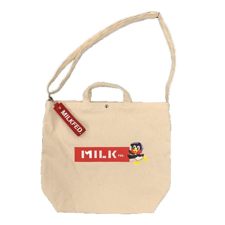 MILKFED×SWALLOWSベーシックショルダーバッグ