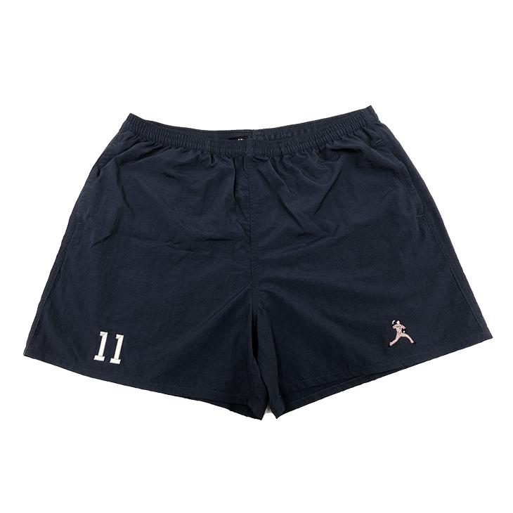 選手刺繍ショートパンツ(ネイビー)