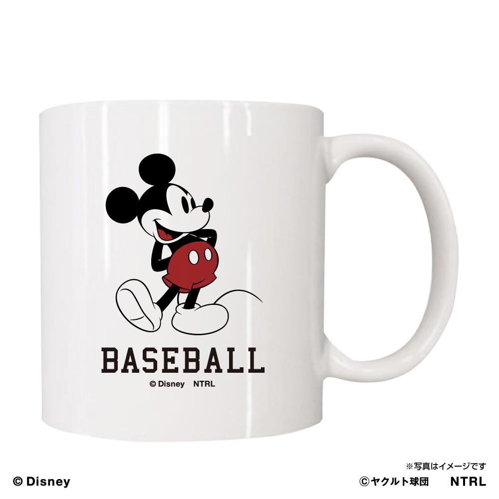 スワローズ×ミッキーマウスBASEBALL マグカップ